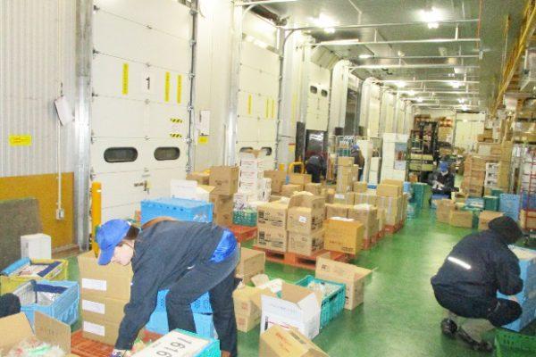 3温度帯に対応した倉庫保有