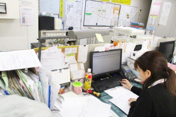 管理事務室でデータを一括管理!